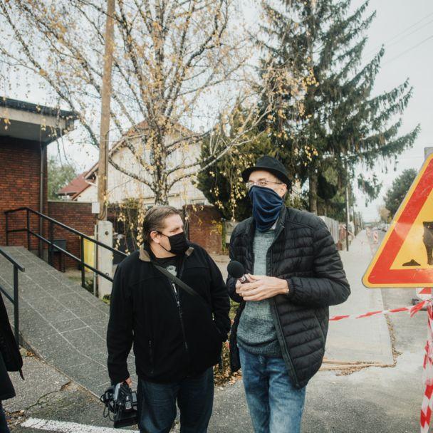 Chodník po stavebných úpravách na ulici Janšáková