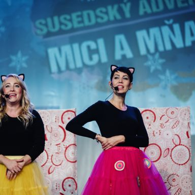 Z natáčania Susedského adventu