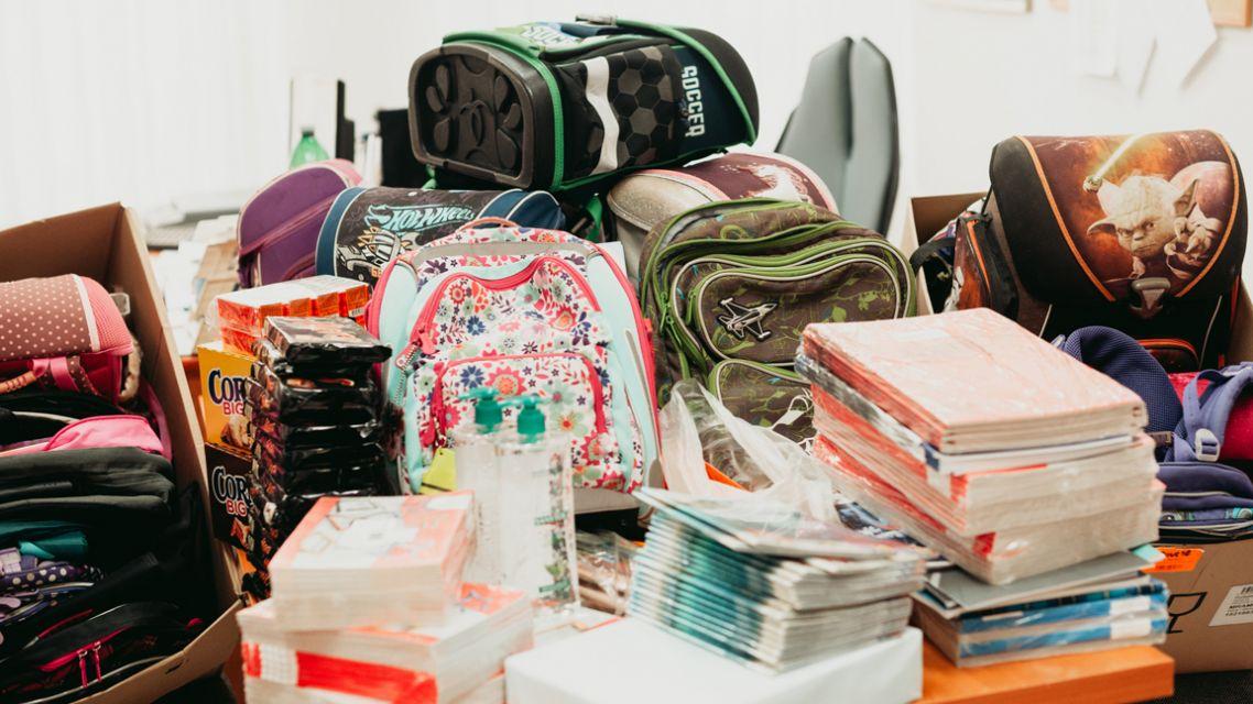 Zbierka školských pomôcok pre deti z Devínskej Novej Vsi ku dňu 27. 8. 2020