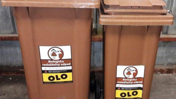 Odvoz biologicky rozložiteľného odpadu
